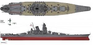 Le Yamato, avant-goût du prochain volet sur la marine impériale de 1919 à 1945.