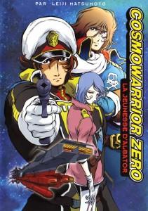 Cosmowarrior Zero, le second rôle d'Albator.