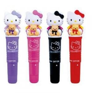 Les Nippons, eux, savent donner dans le merchandising original. Les vibromasseurs Hello Kitty (ou Vibro kitty comme j'aime à les appeler).