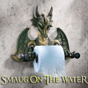 Futur classique du rock : Smaug on the water