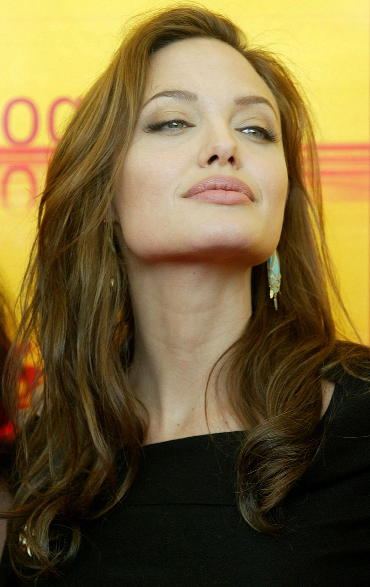 Angelina Jolie for St John