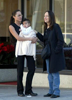 Angelina Jolie And Marcheline Bertrand | www.pixshark.com ...