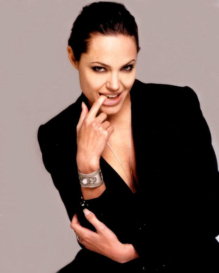 Angie's Rainbow : Photoshoots gallery (8) Angelina Jolie News
